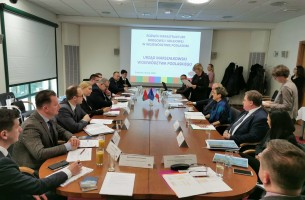 The leadership of Grodno region and Podlaskie Voivodeship discussed regional logistics development plans