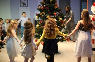 Children's Christmas party was held in the administration of FEZ Grodnoinvest