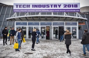 The delegation of the FEZ Grodnoinvest visited the exhibition Tech Industry in Latvia