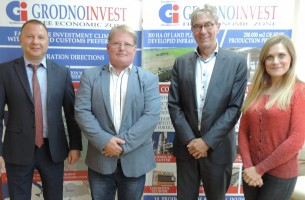 The management of the Lithuanian company Jacobsen Home visited FEZ Grodnoinvest