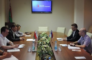 Polish delegation has visited the Grodnoinvest Free Economic Zone