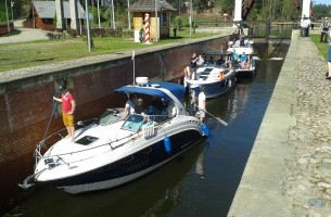 Park Augustow Canal attracts an increasing number of foreign tourists