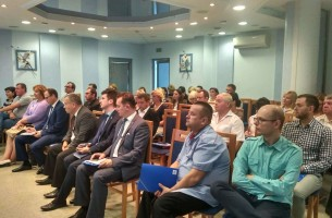 In FEZ Grodnoinvest a regional seminar on the development of clusters was held