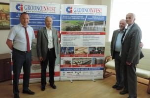 Slovenian company TU-VAL visited the administration of FEZ Grodnoinvest