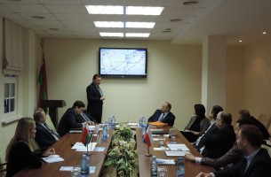 The delegation of the port of Gdansk visited the Grodnoinvest free economic zone