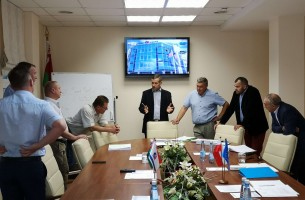 The management of Szynaka group of companies visited FEZ Grodnoinvest