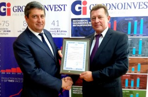 JSC GRODNO GLASSWORKS is registered as a resident of FEZ Grodnoinvest