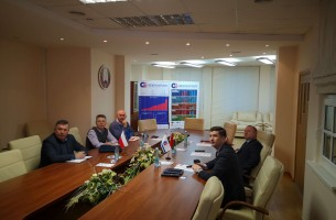 The delegation of Polish furniture companies visited FEZ Grodnoinvest