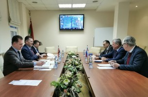 Trade Representative of the Russian Federation in the Republic of Belarus visited FEZ Grodnoinvest
